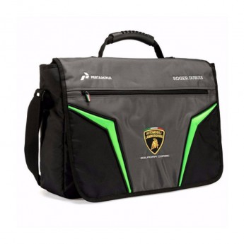 Lamborghini taška na rameno Messenger SC logo 2020