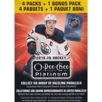 NHL boxy hokejové karty NHL Upper Deck 2019-20 O-Pee-Chee Platinum Hockey Blaster Box