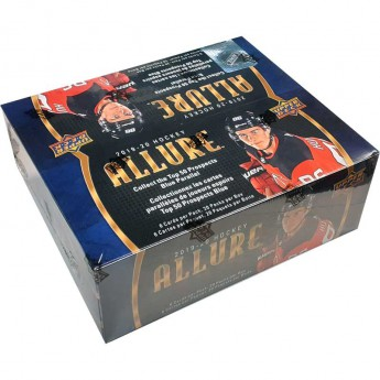 NHL boxy hokejové karty NHL Upper Deck 2019-20 UD Allure Hockey Retail Box