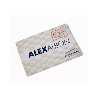 Red Bull Racing vlajka Alexander Albon F1 Team 2020