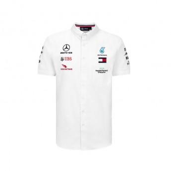 Mercedes AMG Petronas pánska košeľa white F1 Team 2020