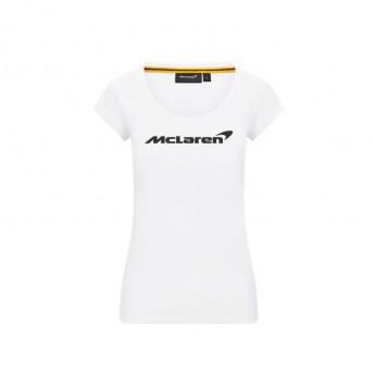 Mclaren Honda dámske tričko Essentials white F1 Team 2020