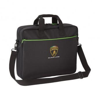 Lamborghini taška na notebook SC black Team 2020