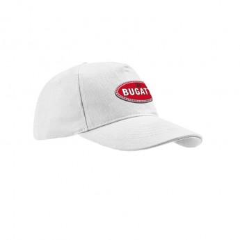 Bugatti čiapka baseballová šiltovka 110 Anniversary Collection white 2020