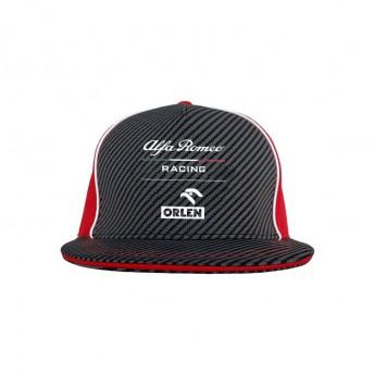 Alfa Romeo Racing čiapka flat šiltovka brim redblack F1 Team 2020
