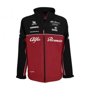 Alfa Romeo Racing pánska bunda Softshell Red F1 Team 2020