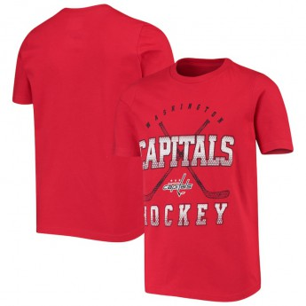 Washington Capitals detské tričko Digital T-Shirt - Red