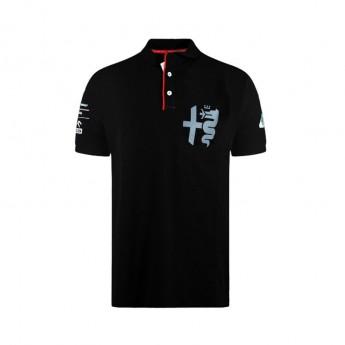 Alfa Romeo Racing polokošeľa Silver Tribute black F1 Team 2020