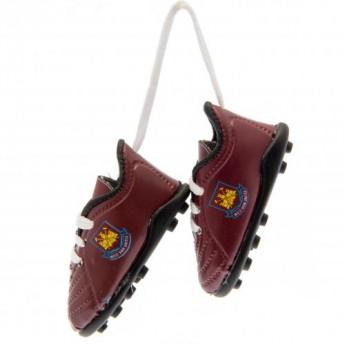 West Ham United mini topánky do auta Mini Football Boots