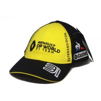 Renault F1 detská čiapka baseballová šiltovka Ocon black F1 Team 2020