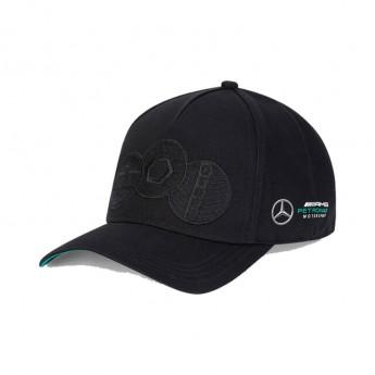 Mercedes AMG Petronas čiapka baseballová šiltovka badge black F1 Team 2020