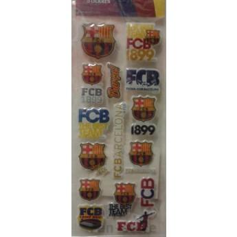 FC Barcelona samolepky malé