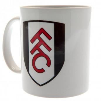 Fulham hrnček white logo