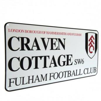 Fulham ceduľa na stenu Street Sign