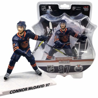 Edmonton Oilers figúrka Connor McDavid #97 Imports Dragon Limited Edition