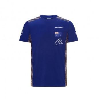 Mclaren Honda pánske tričko Ricciardo Blue F1 Team 2021