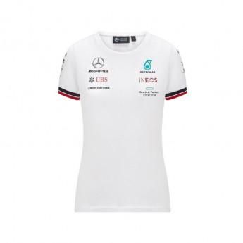 Mercedes AMG Petronas dámske tričko White F1 Team 2021