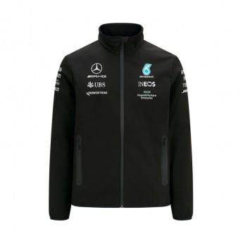 Mercedes AMG Petronas pánska bunda Softshell Black F1 Team 2021
