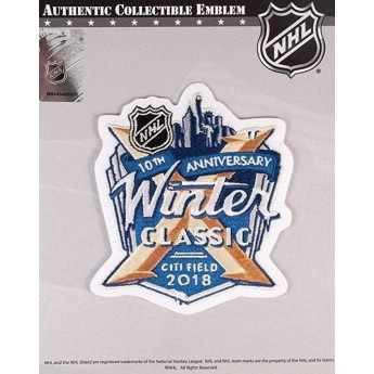 NHL produkty nášivka Winter Classic City Field 2018 Jersey Patch