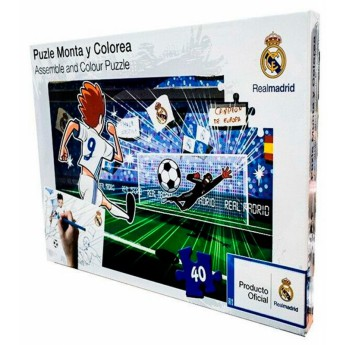 Real Madrid puzzle draw 40 pieces