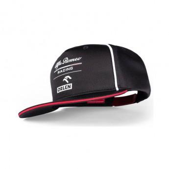 Alfa Romeo Racing čiapka flat šiltovka Orlen black F1 Team 2021