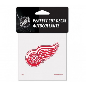 Detroit Red Wings samolepka Color Decal