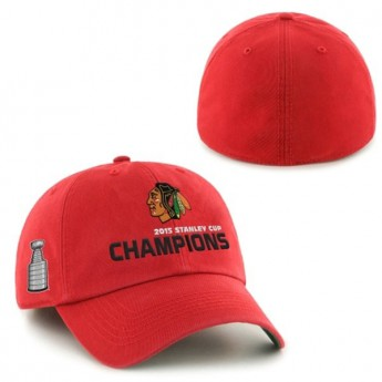 Chicago Blackhawks Šiltovka 2015 Stanley Cup Champions Franchise RED