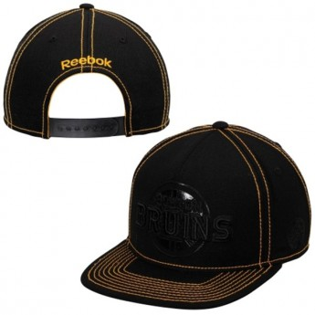 Boston Bruins čiapka baseballová šiltovka Reebok Cross Check Snapback