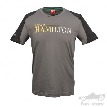Puma Mercedes AMG Petronas pánske tričko Hamilton grau