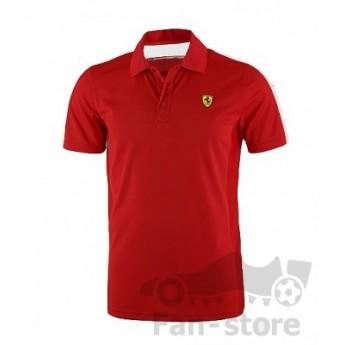 Scuderia Ferrari pánske polo tričko rosso