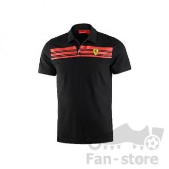 Scuderia Ferrari pánske polo tričko nero due