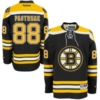 Boston Bruins hokejový dres David Pastrnak #88 Premier Jersey Home