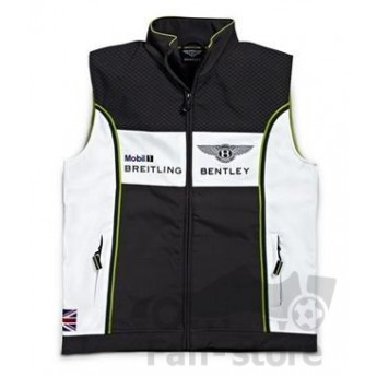 Bentley pánska vesta softshell white