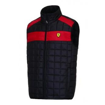 Scuderia Ferrari čierna pánska vesta collection black
