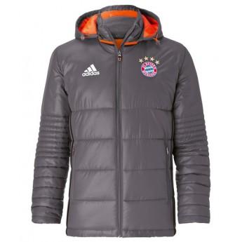 Bayern Mníchov pánska zimná bunda grau