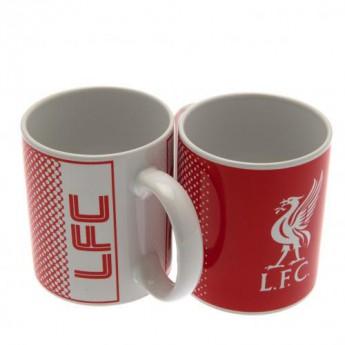 FC Liverpool hrnček Red mug FD