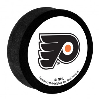 Philadelphia Flyers Penový puk White Sher-Wood