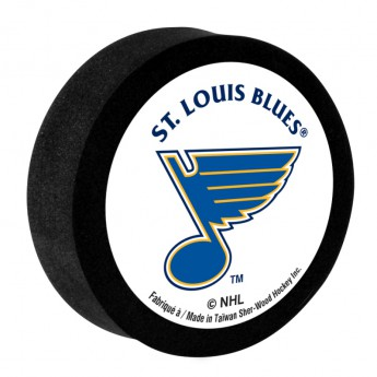 St. Louis Blues Penový puk White Sher-Wood