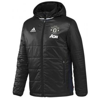 Manchester United pánska zimná bunda pad Jkt black