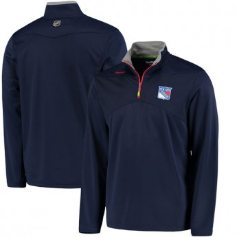 New York Rangers Mikina Center Ice Quarter Zip Baselayer