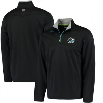 San Jose Sharks pánska mikina Center Ice Quarter Zip Baselayer