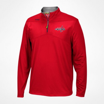 Washington Capitals pánska mikina Center Ice Quarter-Zip Baselayer