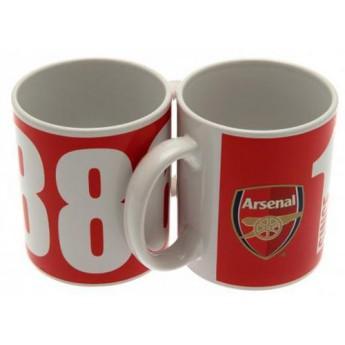 FC Arsenal keramický hrnček club 1886