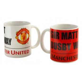 Manchester United keramický hrnček Sir Matt