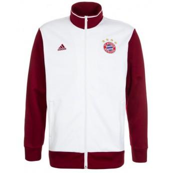 Bayern Mníchov Biela pánska bunda white 3S Trk Top