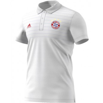 Bayern Mníchov Biele pánske polo tričko white Ssp