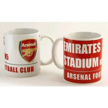 FC Arsenal keramický hrnček štádium 2ks