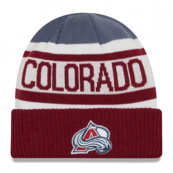 Colorado Avalanche detská zimná čiapka New Era Biggest Fan