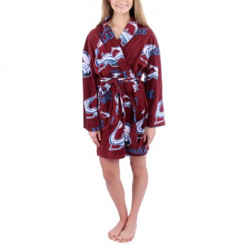 Colorado Avalanche dámsky župan Ramble Microfleece Robe