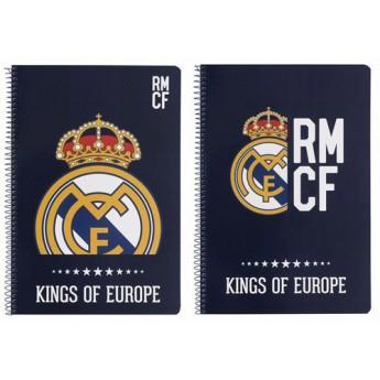 Real Madrid blok zošit A4 kings of europe blue